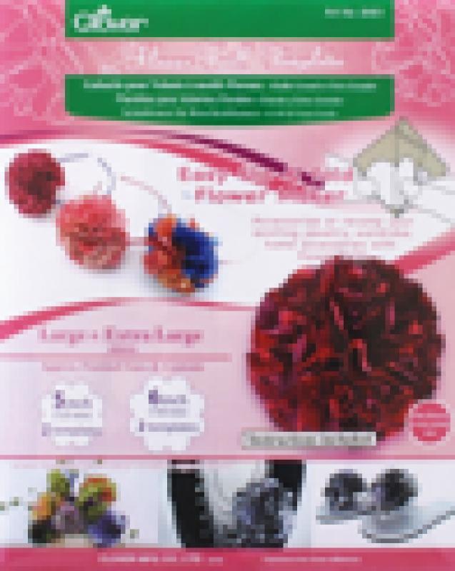 Clover Schablonen für Rüschenblumen groß & extra groß