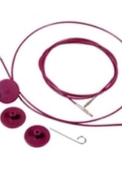Knit Pro auswechselbare Nadelseile, verschiedene Längen