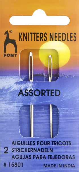Pony Nadeln Wollnadeln #15801